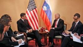 U.S. Vice President Meeting South Europe Leaders