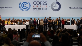 UN Chief Urges Countries Not to Surrender on Climate Fight