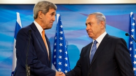 Violence Flares as Kerry Meets Netanyahu in Israel