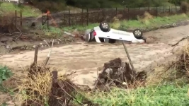 Calif. Man Thankful to Be Alive After Dramatic Flood Rescue