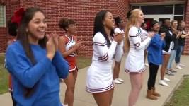 Texas Cheerleaders Rally to Rival School After Fatal Crash