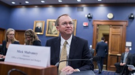 Trump Chooses Mulvaney to Be Acting Chief of Staff