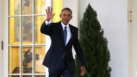 Taking His Exit, Obama Says Presidency Proved Hope Wins Out