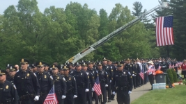 Hundreds Gather at Funeral for Slain Mass. Officer