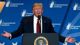 Trump Says Energy-Efficient Light Bulbs Make Him Look Orange