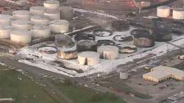 Cleanup Begins at Southeast Texas Chemical Plant