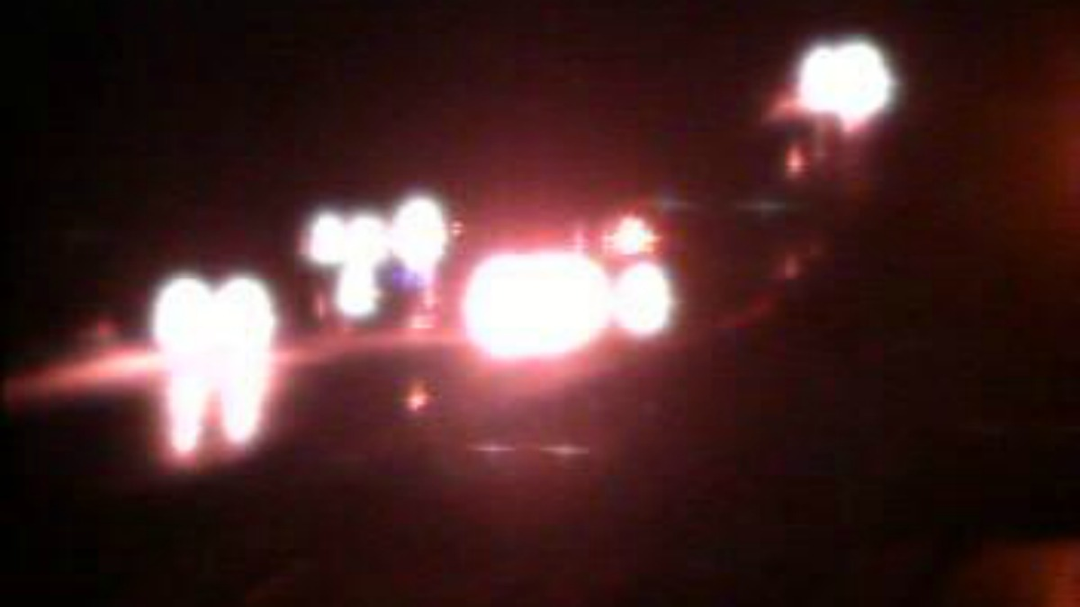 A car fire on Interstate 95 south in Madison has closed lanes in the exit 61 area.