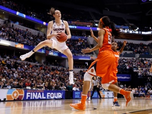 Breanna Stewart Top Pick in WNBA, Leading 1-2-3 UConn Sweep