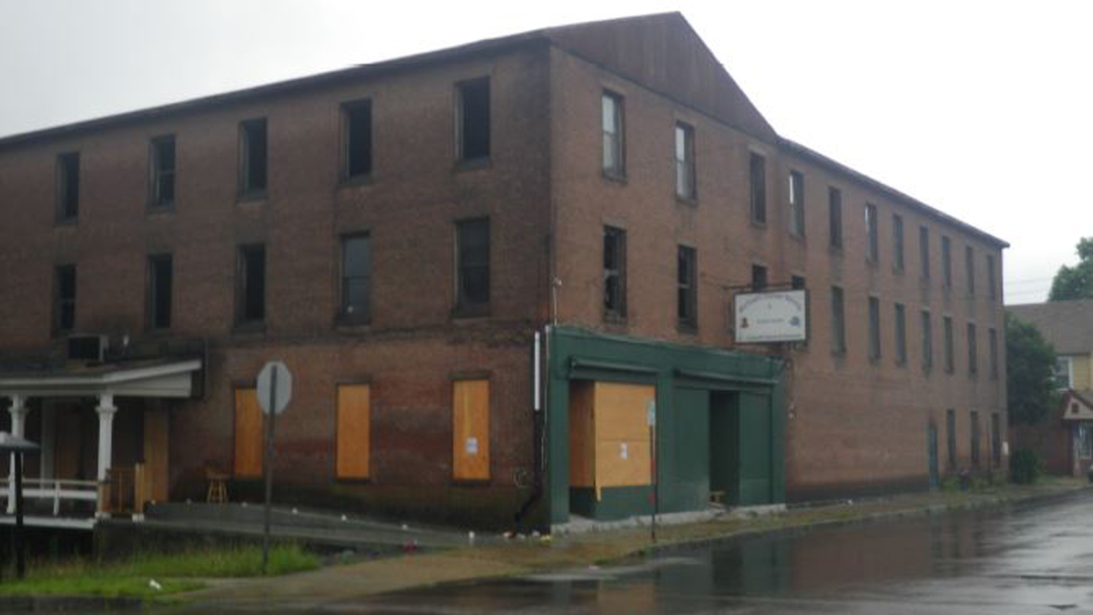 Norwich police are investigating a fire at a building on South Second Avenue earlier this month as arson.