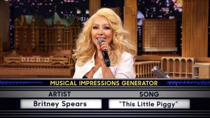 WATCH: Aguilera Impersonates Cher, Spears
