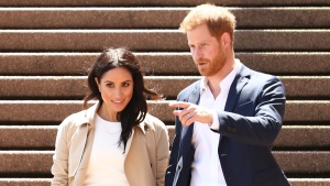 Prince Harry & Meghan Markle in Rome for Wedding
