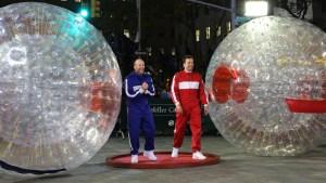 Fallon: Hamster Ball Race With Statham