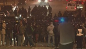 Violence Erupts in Baltimore Over Police Custody Death