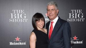 Celeb Breakups: Anthony Bourdain and Ottavia Busia