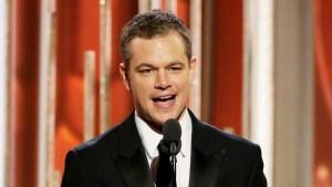 Matt Damon's Super Bowl Ad Will Inspire You to Drink