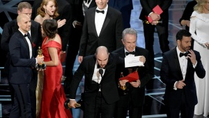 Reactions to Oscar 'Best Picture' Blunder
