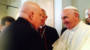Md. Gov With Cancer Gets Pope's Blessing