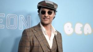 Matthew McConaughey Receives Original High School Diploma