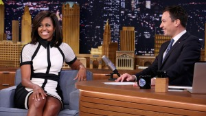 Michelle Obama, Jimmy Fallon Bring Back Mom Dancing