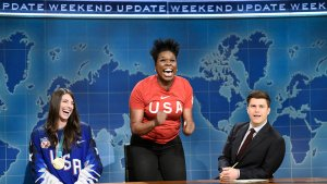 Hilary Knight Appears on Saturday Night Live