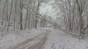 Storm Downs Power in Sprague