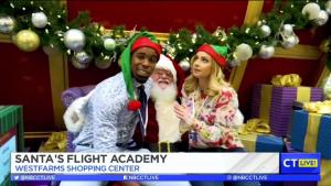 Santa Arrives At Westfarms And You Can Join His Flight Crew