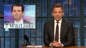 'Late Night': A Closer Look at Trump Jr. and WikiLeaks