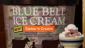 Blue Bell Announces New Camo n' Cream Flavor