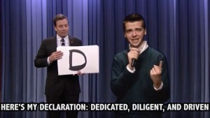 Student Snags Fallon Internship by Rapping