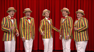 'Tonight': Gordon-Levitt With the Ragtime Gals