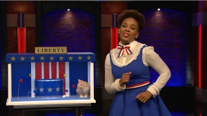 'Late Night': Amber Ruffin Wants You to Vote — or Else