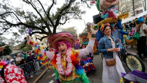 Costumes, Beads and Music: Mardi Gras Comes to a Close