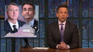 'Late Night': A Closer Look at Calls for Va. Governor to Resign