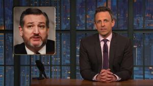 'Late Night': 'Leave Him Alone Guy' Sticks Up for Ted Cruz