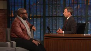 'Late Night': Tyler Perry Called Colin Powell Before 'Vice'