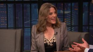 'Late Night': Marianne Williamson on Becoming a Meme