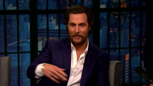 'Late Night': McConaughey's Daughter's Fave Character