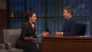'Late Night': Fey Gave Out Cheese Fries on 'Mean Girls Day'