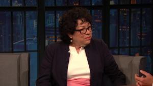 'Late Night': Justice Sotomayor Shares Ruth Bader Ginsburg's Nickname