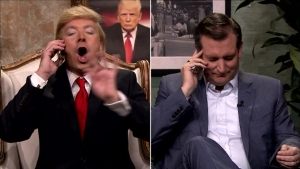 Jimmy Fallon's Trump Calls Ted Cruz
