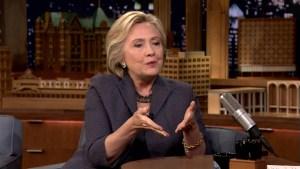 'Tonight': Clinton on Breaking Barriers, Debating Trump