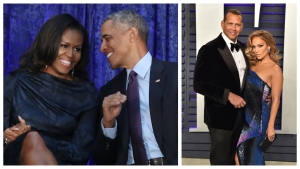 Obamas Congratulate J.Lo, A-Rod on Engagement