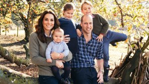 Royals Reveal the Images on Their Christmas Cards