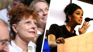 Sarah Silverman, Susan Sarandon Ignite DNC Celebrity Bern