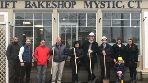 Sift Bake Shop in Mystic Breaks Ground on Expansion Project