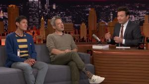 'Tonight': Fallon Shows Mike D, Ad-Rock 'Sure Shot' Home Video