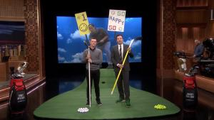 'Tonight': 'Happy Gilmore' Challenge With Rory McIlroy