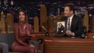 'Tonight': Kim Kardashian West Addresses Kylie-Travis Rumors