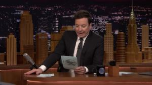 'Tonight': Jimmy Shares 5-Word New Year's Resolution Tweets