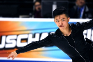 Jimmy Ma Pushes Envelope in Figure Skating With 'Turn Down for What'